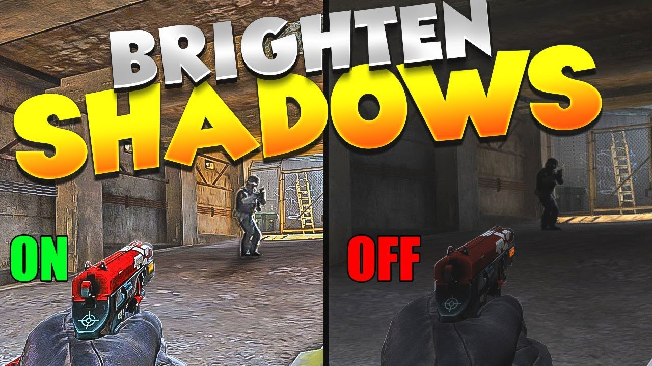 CS:GO - Nvidia Freestyle lets you SEE into Shadows! (CHEATING?)