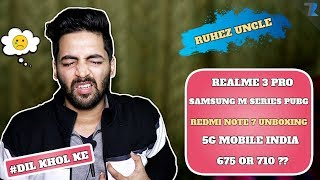 #Ask Ruhez - Redmi Note 7 Unboxing,Realme 3 vs Redmi Note 7,Android Z,Samsung M Series PUBG & More