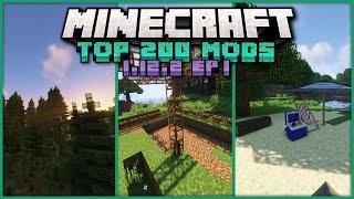 Top 200 Best Mods for Minecraft 1.12.2 EPISODE 1Exploration, Dungeons &amp QOL Changes