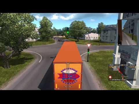 Донбасс в Euro Truck Simulator 2