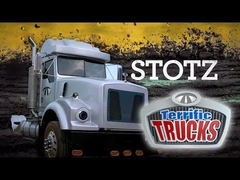 Terrific Trucks: Meet Stotz | Universal Kids