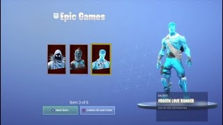 (Fortnite) buying the Frozen Legends Pack!!!