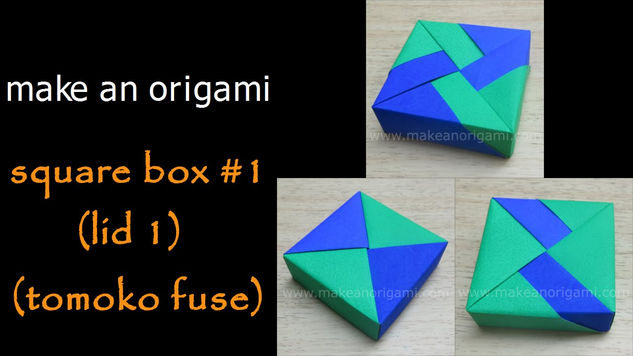 medium resolution of origami box tomoko fuse