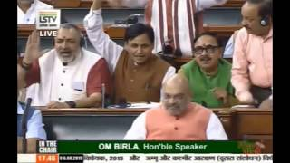 Entry of PM Narendra Modi in Lok Sabha MPs chant slogans Shah defends it