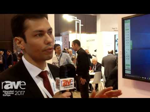 """ISE 2017: Finlux Details 55"""" Interactive Flat Panel Display"""