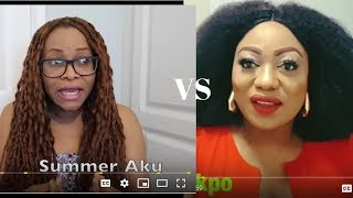 SUMMER AKU ISN'T WHO SHE SAYS SHE IS?DRAGGING OBODO OYIBO TV|LIVING IN IRELAND