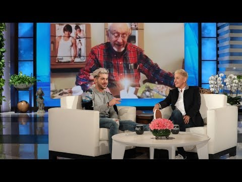 Zac Efron Gets Sentimental About His Grandparents