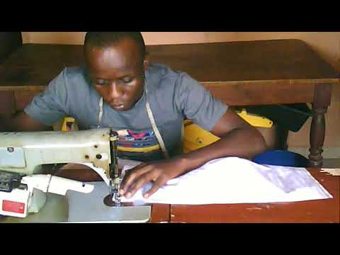 How to sew Agbada thumbnail