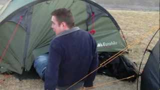 The great escape from a tent