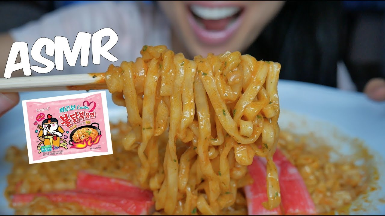 Asmr Carbonara Fire Noodles Eating Sounds No Talking Sas Asmr Youtube You'll find a variety of asmr videos covering numerous triggers. asmr carbonara fire noodles eating sounds no talking sas asmr