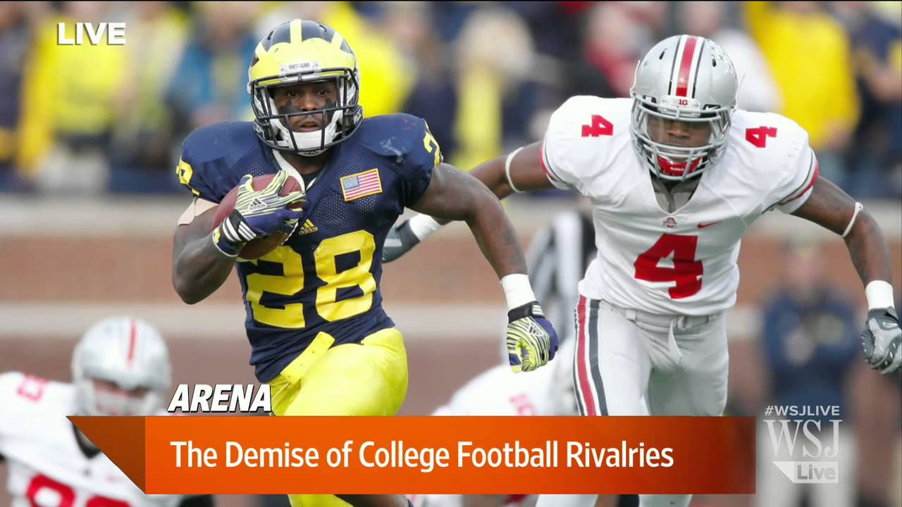 football rivalries college