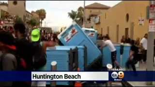 Officials Want To Quash Violence, Crime In Huntington Beach