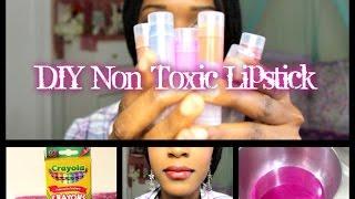 DIY non toxic lipstick | 🌴 NiquesOasis