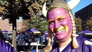 Video: Vikings fans talk tailgating at the season home opener