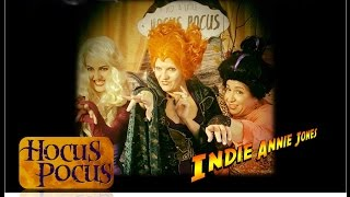 Behind the scenes on Indie-Annie Jones Hocus Pocus episode