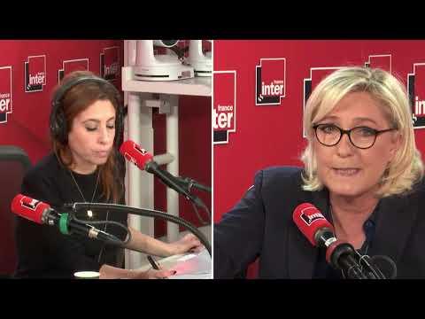 Marine Le Pen est l'invitée du grand entretien