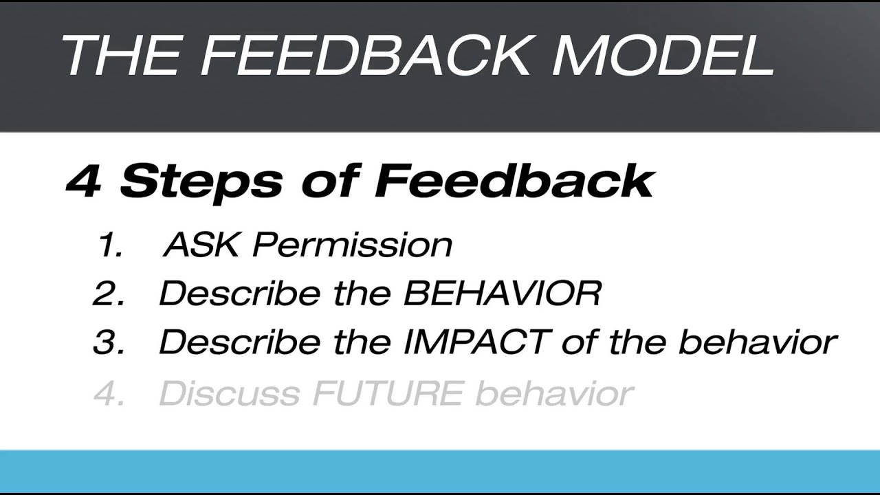 The Feedback Model - YouTube