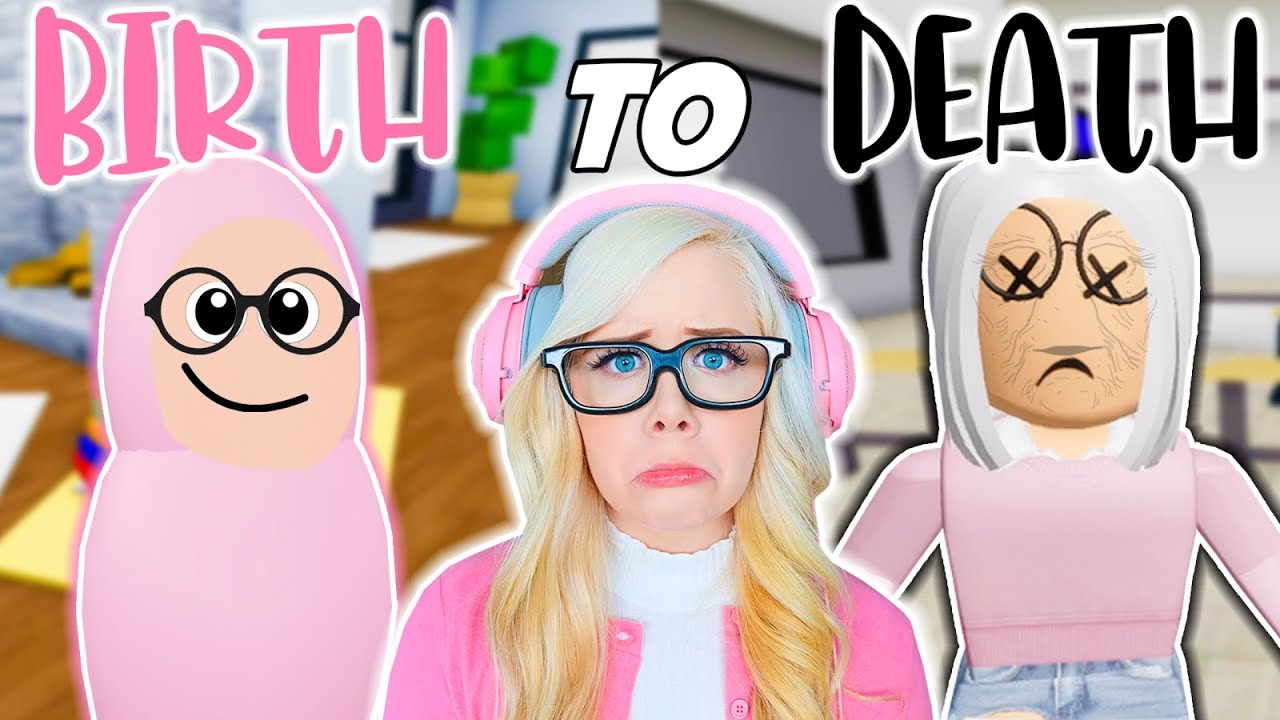 BIRTH TO DEATH: THE NERD IN BROOKHAVEN (ROBLOX BROOKHAVEN RP)