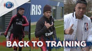 REPRISE DE L'ENTRAÎNEMENT - BACK TO TRAINING with Neymar Jr, Kylian Mbappé