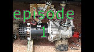 conversion voiture Electrique  Audi A3 8l episode 1