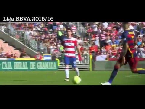 3 goles de Luis Suarez vs Granada, Granada CF 0 - 3 Barcelona, Goles y Resumen, Liga BBVA 2016