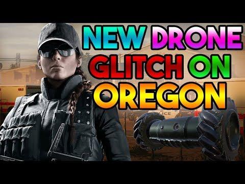 (NEW) AWESOME DRONE GLITCH ON OREGON - EASY WIN (Rainbow Six Siege)