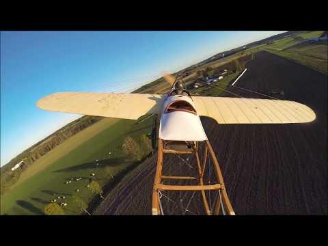 Bleriot XI-2 second flight in Norway