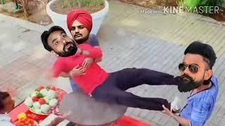 Babu Mann funny video//Babu Maan Fanny video//Babu Mann Vs Sidhu Moosewala//New song 2020