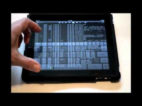 Hands On Demo: iPad Linux Terminal