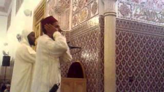 Arraji3i Adan salat al 3ichaa men masjid al amiraa lala latifa b marrakech