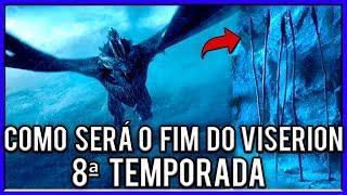 A Grande Derrota do Dragão Viserion na 8ª Temporada de Game Of Thrones!