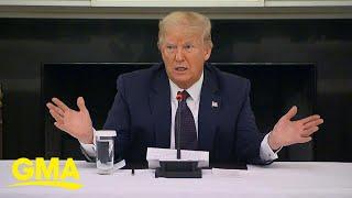 President Trump announces he's taking anti-malaria drug l GMA