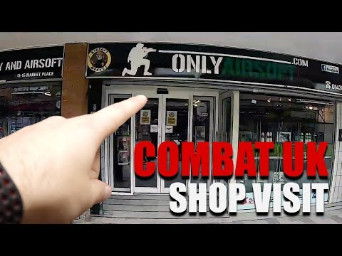 OVER 700 GUNS! | Combat UK Shop Visit | Georaga Airsoft