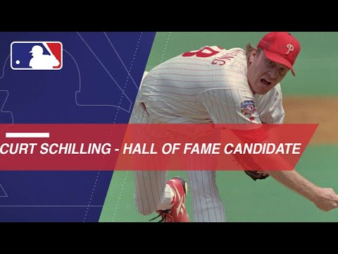 Curt Schilling is a 2018 HOF candidate