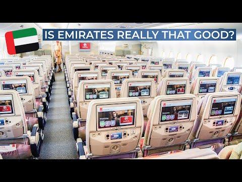 TRIPREPORT   Emirates (Economy)   AIRBUS A380   Vienna - Dubai