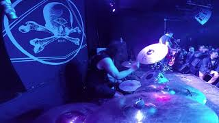 Converge - Eye of the Quarrel Ben Koller drum cam Saint Vitus, Brooklyn