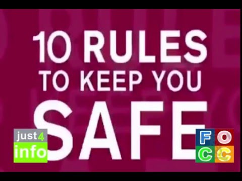 10 Rules to Keep You Safe- Life Saving Rules - Oil and Gas