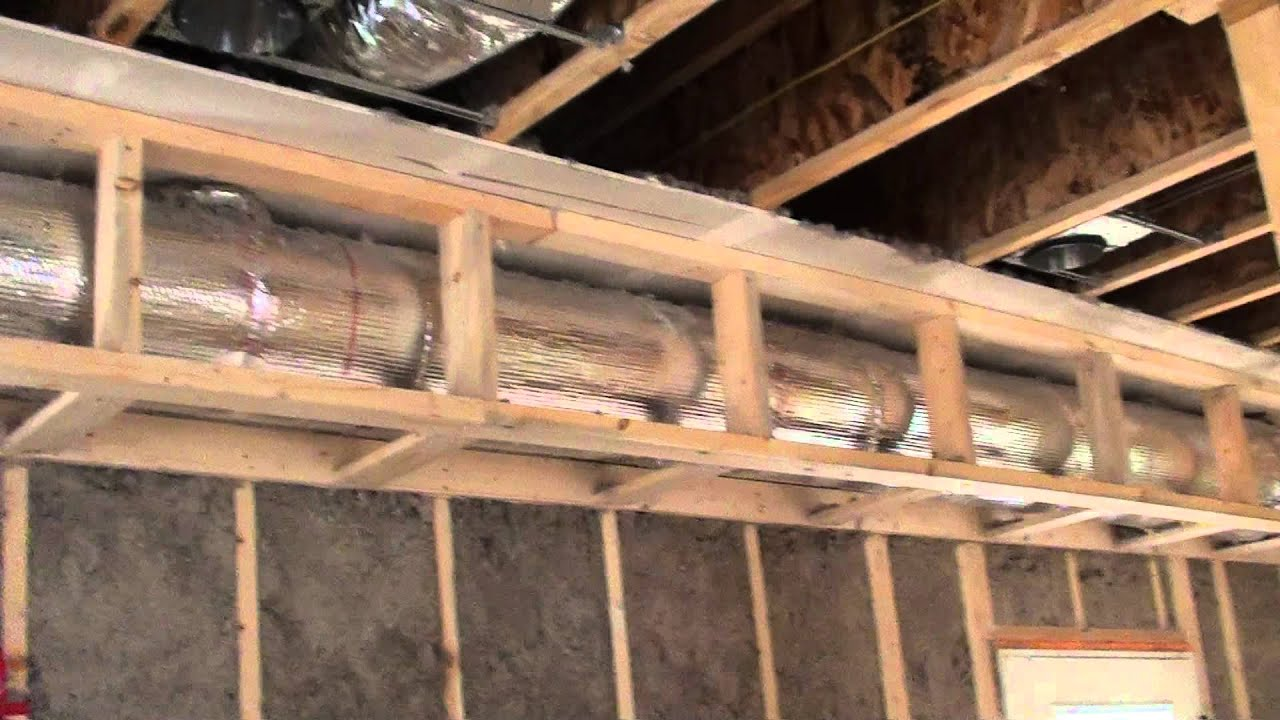 Rigid ducts youtube for Best way to build a basement