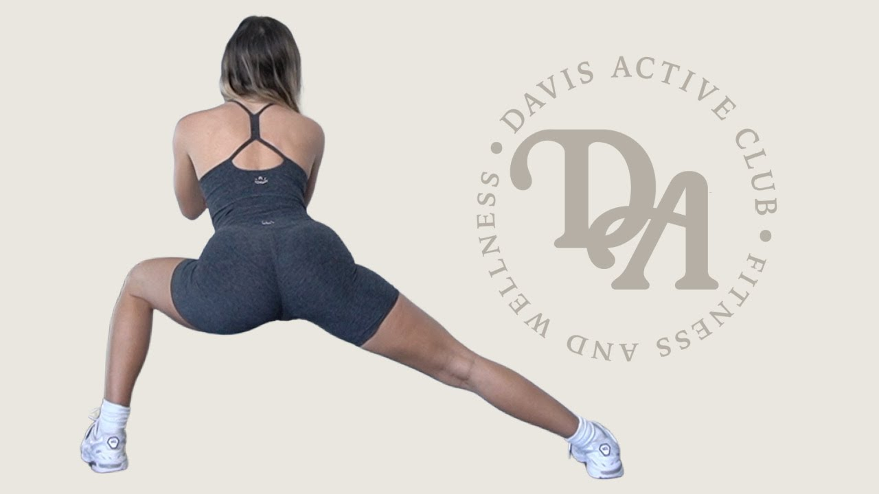 20 Minute Booty Workout- Dumbbells and Mini Band   Davis Active Club at Home Guide   CASIDAVIS