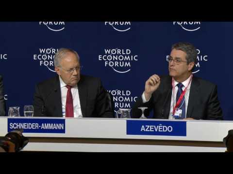 Davos 2017 - Press Conference: An Update on the WTO Minister
