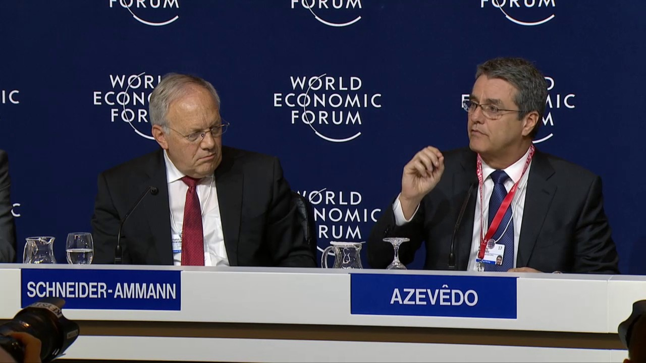 Davos 2017 - Press Conference An Update on the WTO Ministerial Meeting