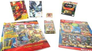 LEGO Ninjago Trading Card Game Serie 4 / Starter Pack, Blister und Multipack unboxing
