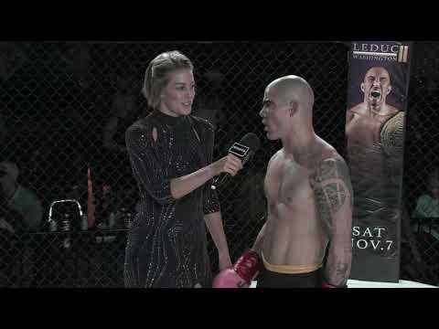 Sparta Wyoming 4 Deluca vs Richardson Kickboxing