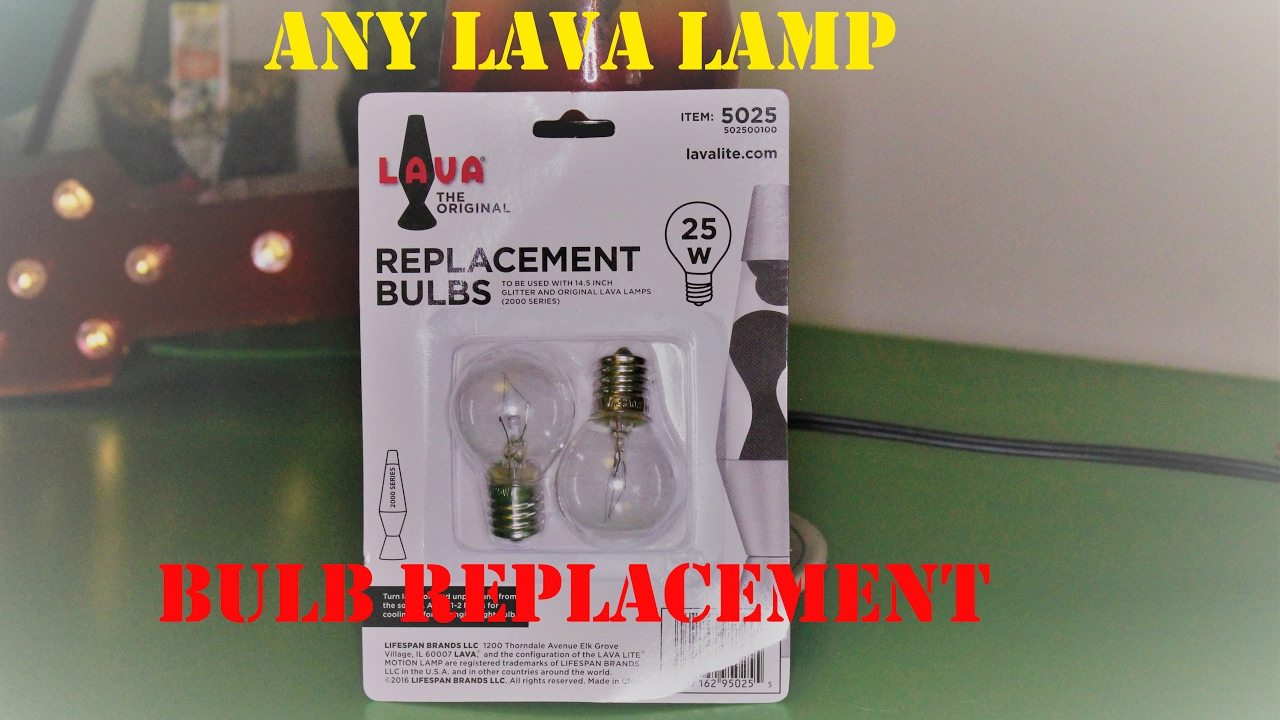 Lava Lamp Bulbs Replacement 25w The Original