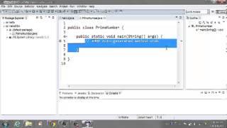 在Eclipse上如何用Java的BigInteger, SecureRandom產生大質數(Prime Number)
