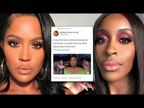 Now It's Personal...Jackie Aina VS. Makeup Shayla Beef Gets Deeper