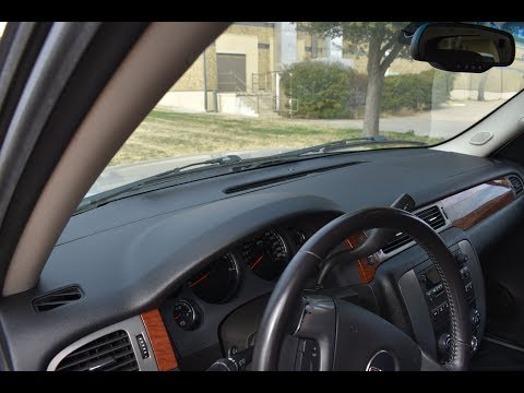 Coverlay® 2007-2013 Chevy/GMC Dash & Vent Cover Installation. Part#18-207C