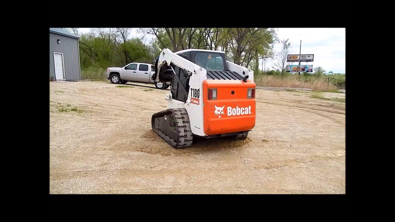 2007 Bobcat T180 skid steer Demo