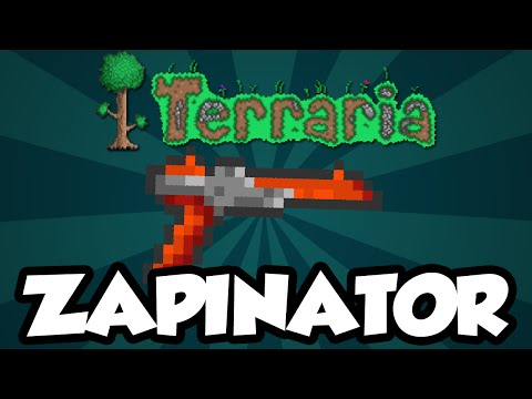 Terraria Discontinued Items - The 'Zapinator' - Very Rare Discontinued Terraria Item (NES Zapper)