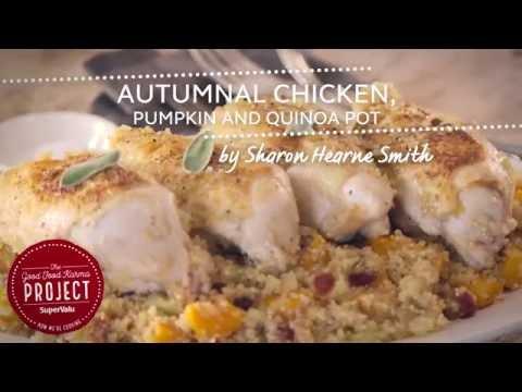 Autumnal Chicken, Pumpkin and Quinoa Pot